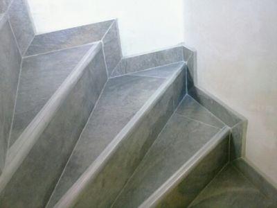 Escaleras en ceramica ambientes ceramicos for Pisos para gradas