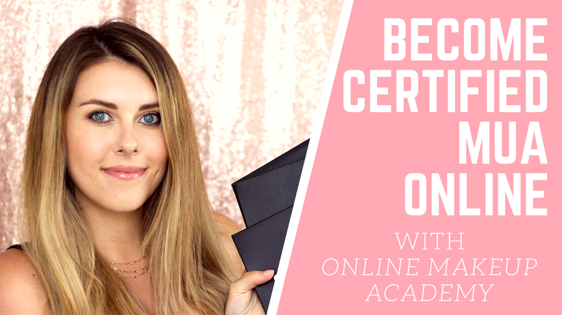 Video Become A Certified Makeup Artist With Online Makeup Academy