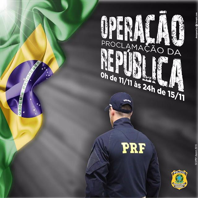 OPERAÇÃO DA PRF INICIA HOJE (11) EM TODO O BRASIL