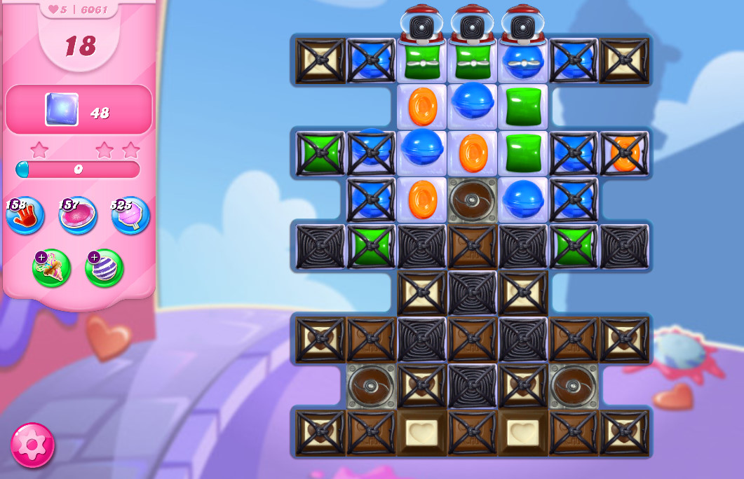 Candy Crush Saga level 6061