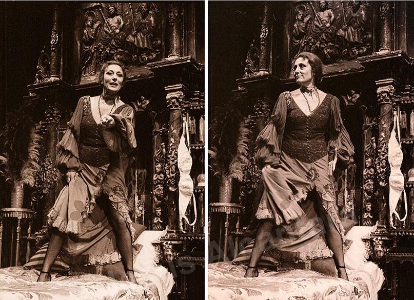 """Julia Gutiérrez Caba-1981 """"Petra Regalada""""-Fotografía Jesus Alcantara."""
