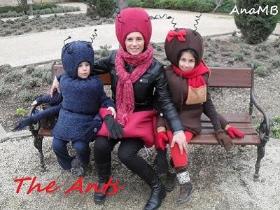 Mravi, kostim za maškare