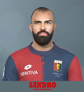 PES 2019 Faces Sandro Raniere by Jarray & The White Demon
