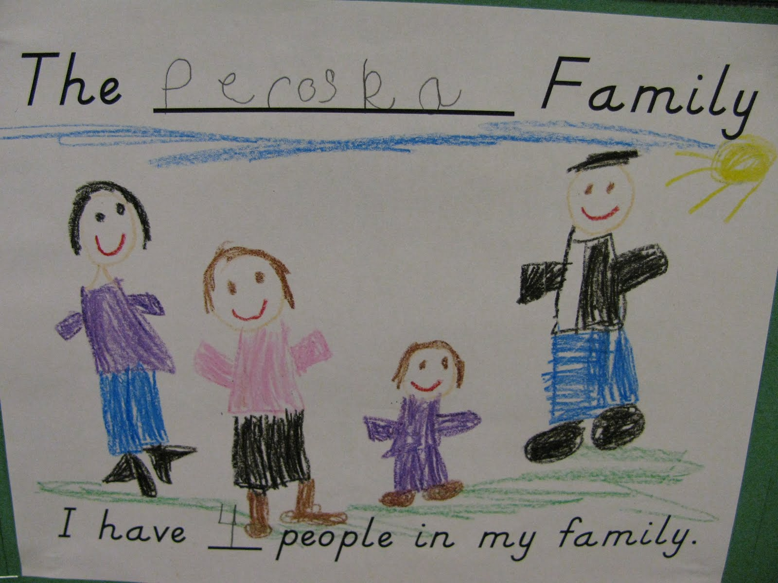 First Grade Gallery Lessons For Little Learners Our Family Tree