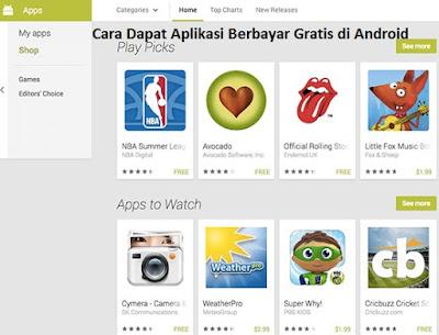 Cara Dapat Aplikasi Berbayar Gratis di Android