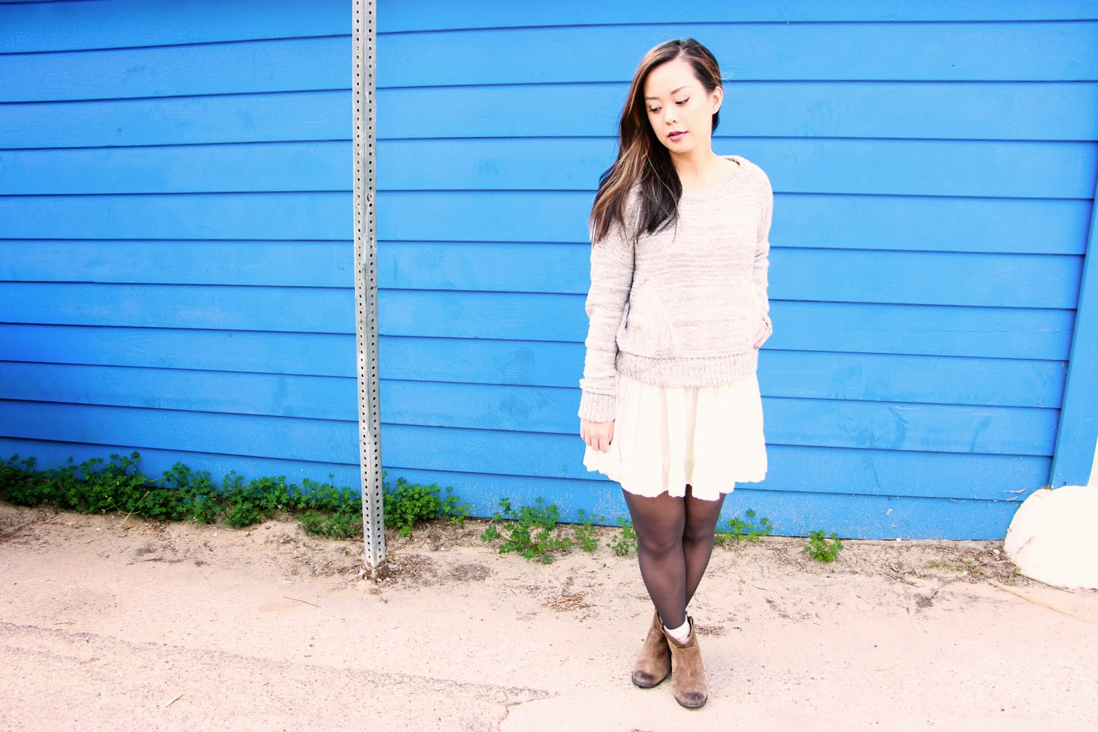 How to Style Tights for Fall & Winter