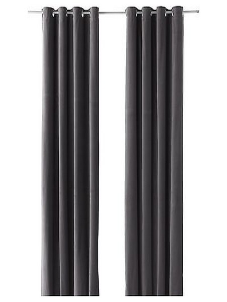 51 charcoal grey blackout curtains for decoration