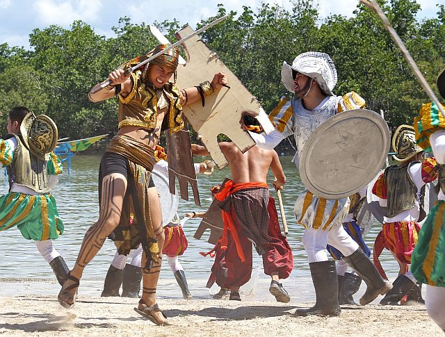 Kadaugan Sa Mactan - Battle of Mactan Re-enactment