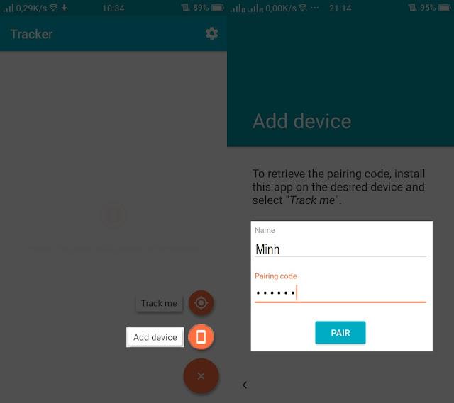 cách biết vị trí của người khác thông qua điện thoại android