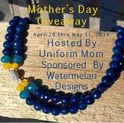 Enter the Mother's Day Jewelry Giveaway. Ends 5/11.