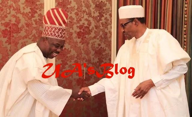 Buhari, Amosun in closed door meeting