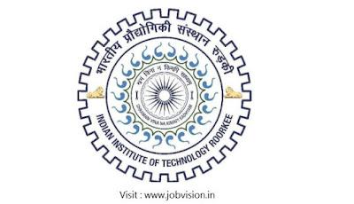 IIT Roorkee Recruitment 2018