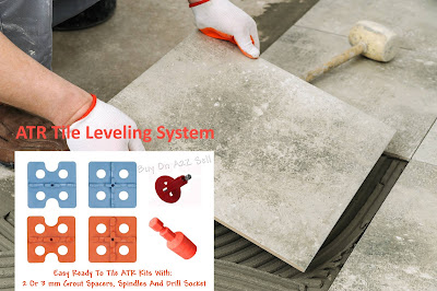 Tile Leveling System for Lippage Free Floor