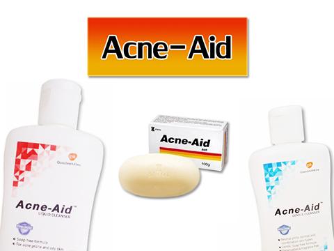 สบู่เหลวล้างหน้า Acne-aid สำหรับคนเป็นสิว