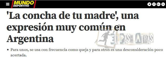 insulto Messi árbitro