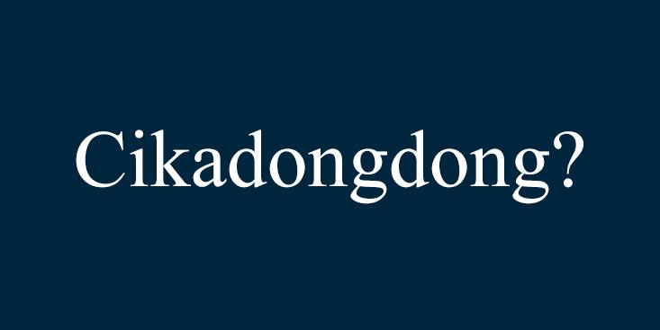 Cikadongdong