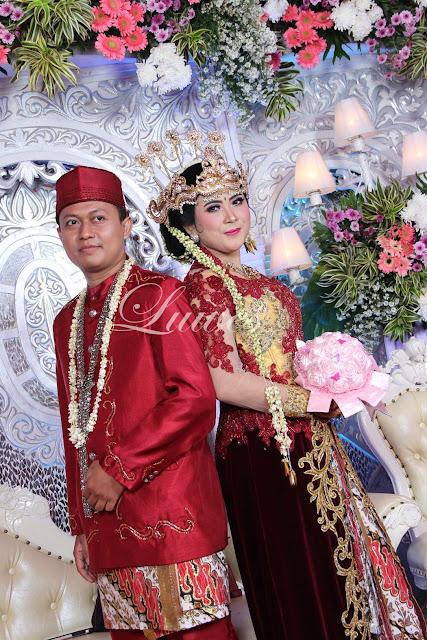Rias pengantin dan pernikahan adat sunda siger modifikasi