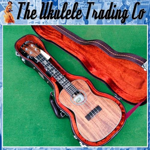 The Ukulele Trading Co Australia Auction Of Kala Ka Asac C Solid Acacia Concert Ukulele Package Inc Hardcase Tuner Worth 780