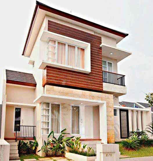 Desain Rumah Minimalis 2 Lantai Sederhana Bersih