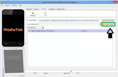 Cara Flash SmartPhone Oppo A71 Menggunakan SP FlashTool