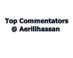 Top Commentator April 2018