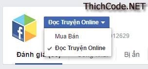 Chọn ứng dụng Facebook Comment cần cấu hình