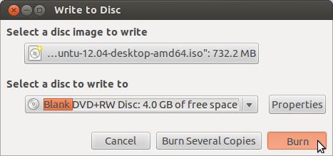 burn windows 7 iso to usb ubuntu