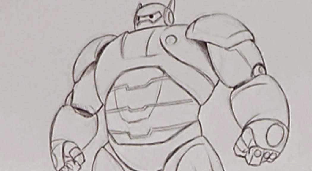 Nabedin Big Hero 6 Para Colorear Y Pintar