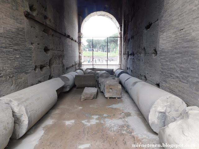 Колизей изнутри