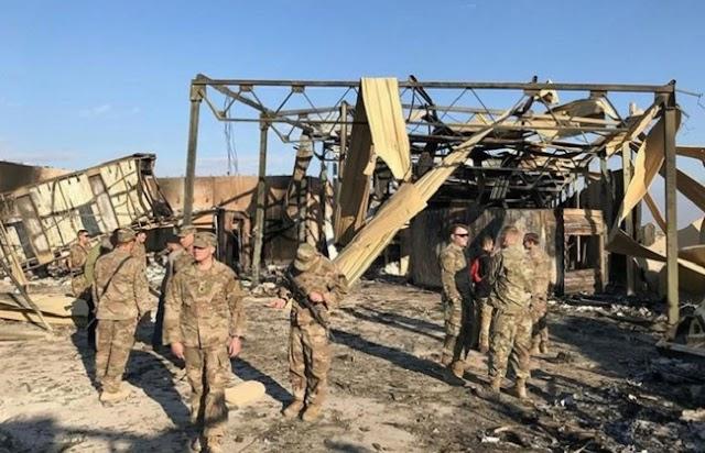 ईरानी मिसाइल हमले में 100 से ज्यादा अमेरिकी सैनिकों को आईं दिमागी चोटें