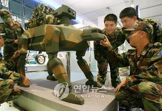 Militer Korea Selatan Bakal Gunakan Robot Hewan