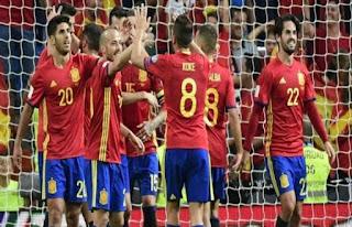 انتهت المباراه .. مباراه اسبانيا وسويسرا اليوم 3-6-2018
