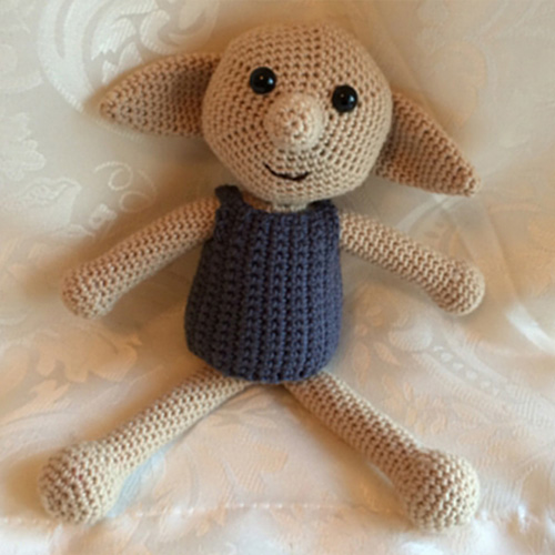 Dobby The House Elf Toy - Free Pattern