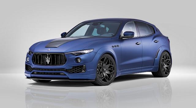 2017 Novitec Maserati Levante Esteso - #Novitec #Maserati #Levante #tuning #suv