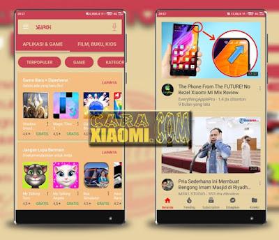 Link Download Themes MIUI Stallion Mod Light Support untuk Xiaomi MIUI 9