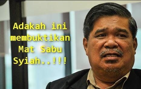 Syssss Mat Sabu Jadi Syiah Semula