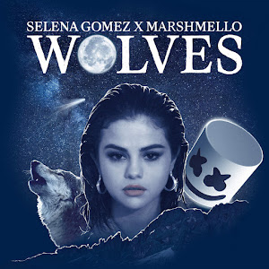 Selena Gomez & Marshmello - Wolves - Single Cover