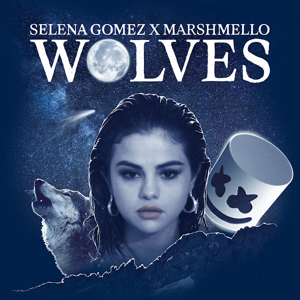 Selena Gomez & Marshmello - Wolves - Single Cover