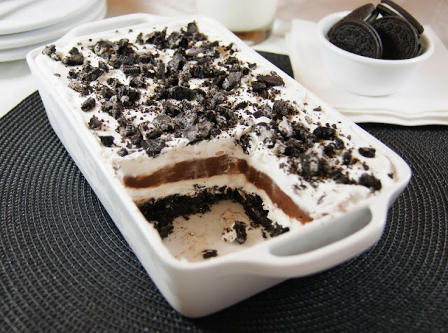 No-Bake Oreo Icebox Dessert photo