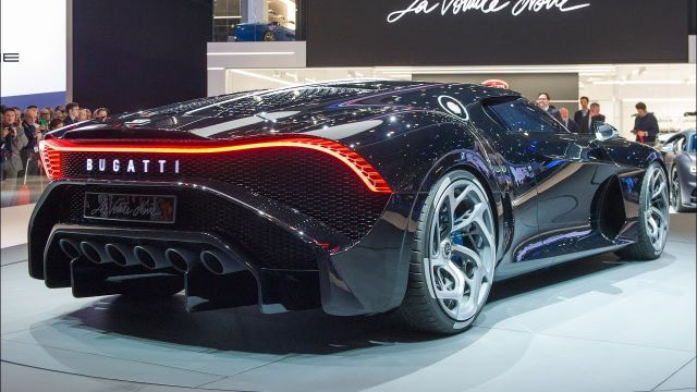 صور سيارة بوغاتي لا فواتير نوار Bugatti La Voiture Noire