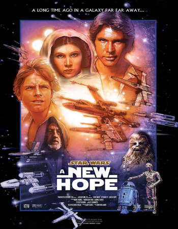 Star Wars: Episode IV - A New Hope 1977 Hindi Dual Audio BRRip Full Movie Download