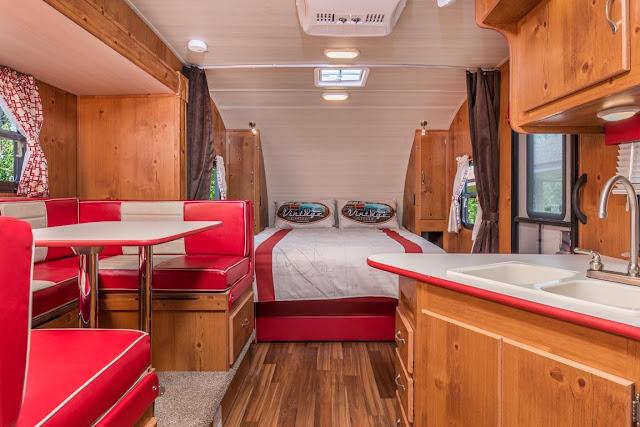 vintage cruiser interior