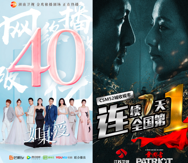 Chinese TV series ratings