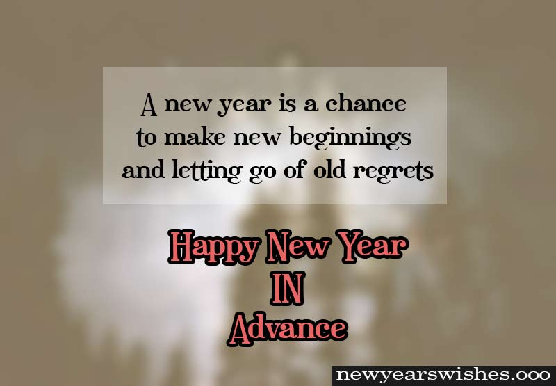 happy new year in advance message 2019