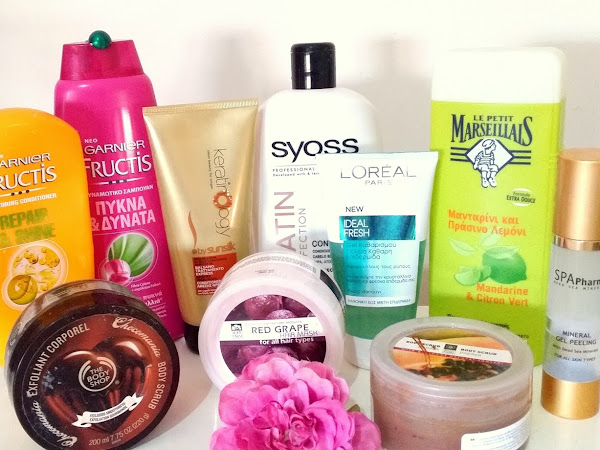 Shower routine - Products I currently use