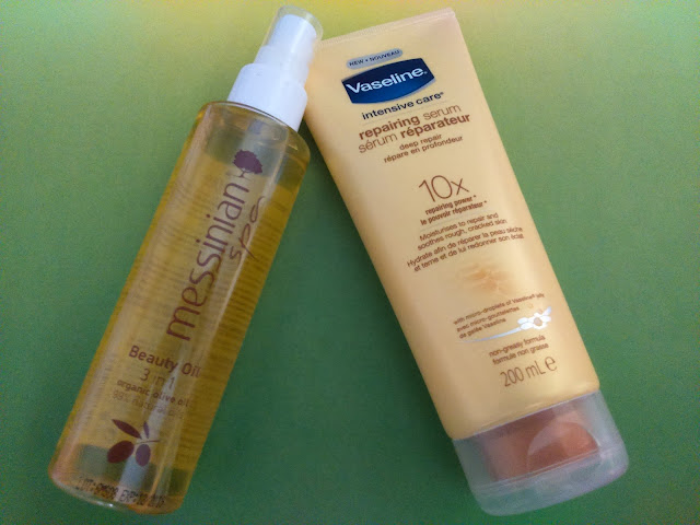 Messinian Spa Beauty Oil 3 in 1 and Vaseline Intensive Care Repairing Serum