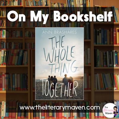 In The Whole Thing Together by Ann Brashares, Ray's mother and Sasha's father were once married, but after a bitter divorce all they have left in common is the beach house and their children. Narration alternates between Ray, Sasha, and their three sisters, offering different perspectives on the same events as they find love, forgiveness, and themselves. Read on for more of my review and ideas for classroom application.