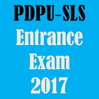 PDPU School of Liberal Studies Entrance Exams 2017