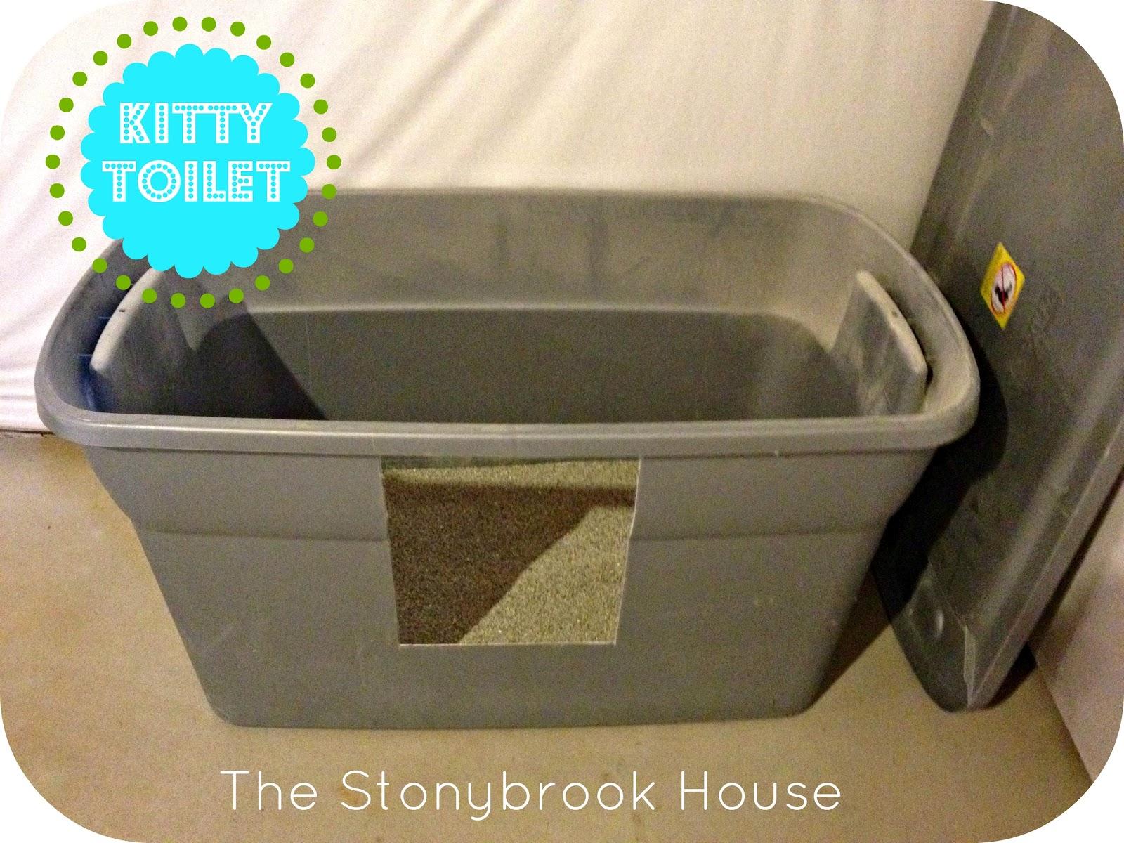Kitty Toilets D Diy Litter Box The Stonybrook House