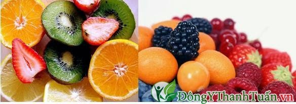 Cách chữa bị nhiệt miệng bằng ăn trái cây giàu vitamin C